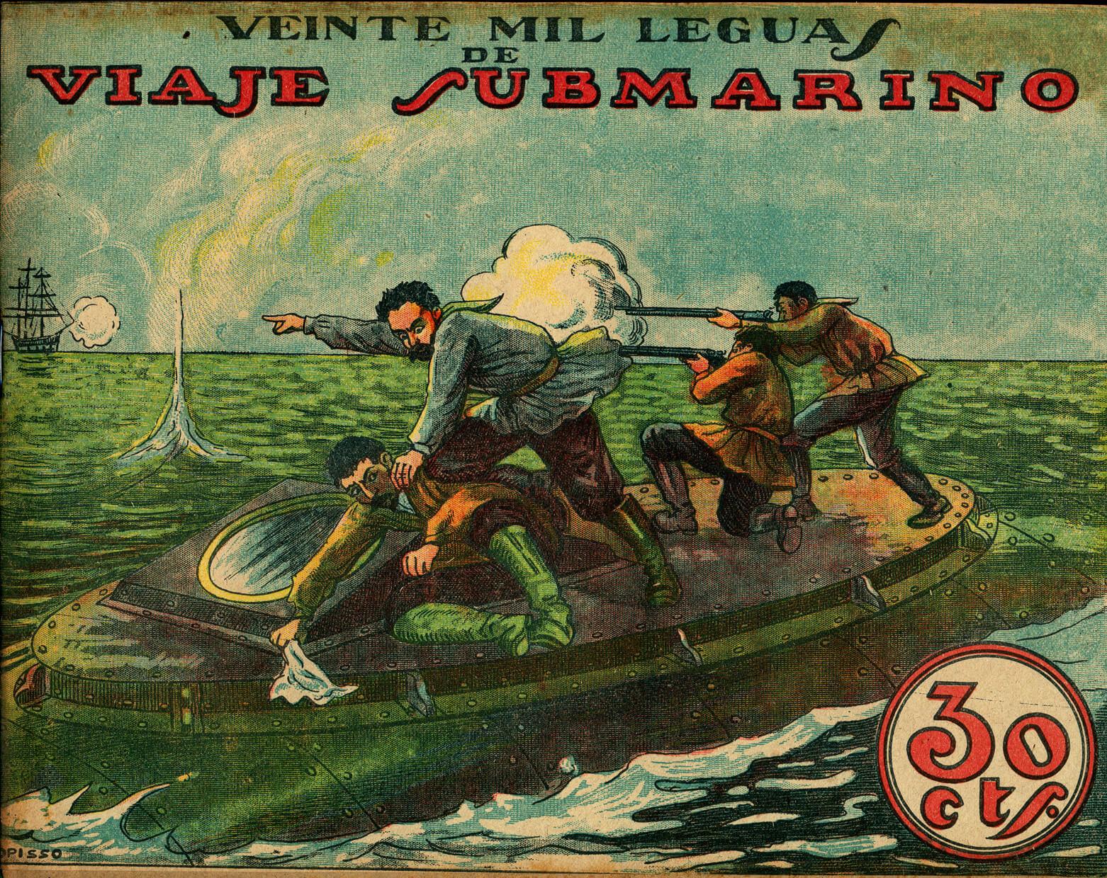 20.000 leguas de viaje submarino (1916) | Zinemaníacos