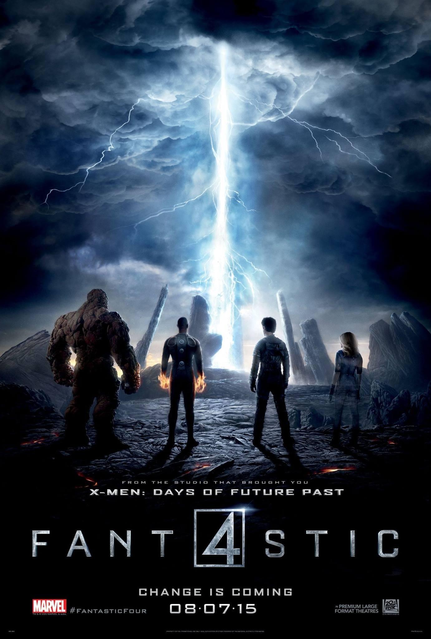 4 Fantasticos - poster