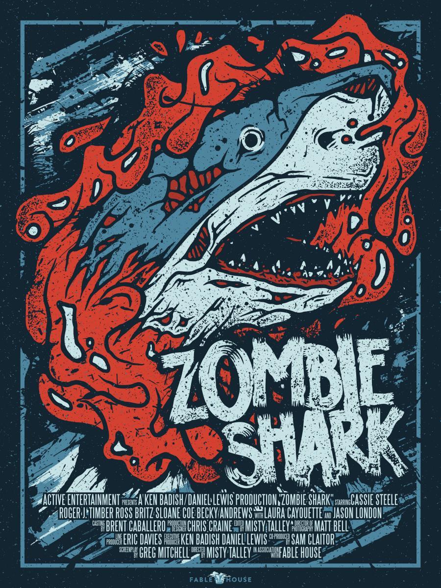 Zombie Shark - poster