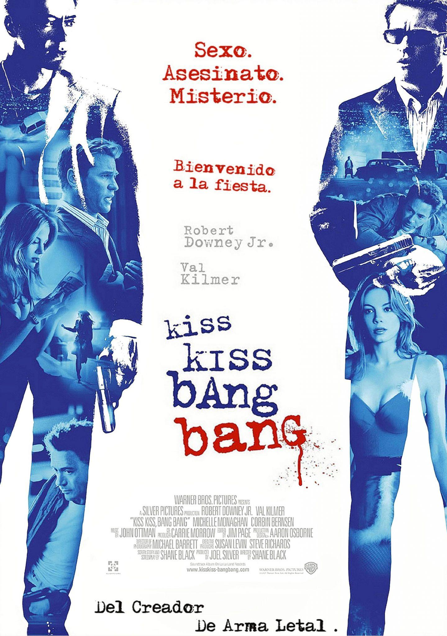 kiss kiss bang bang -poster