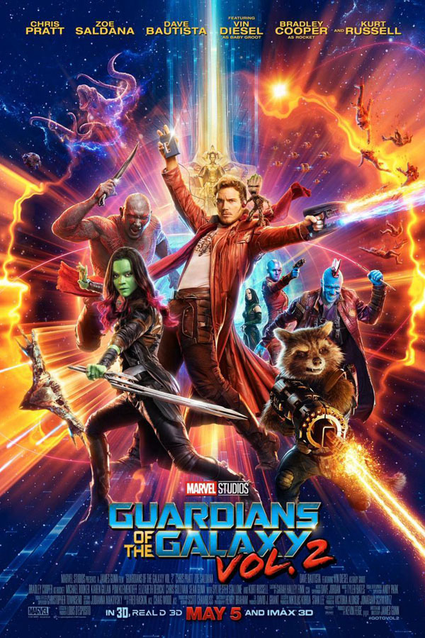 Guardianes de la Galaxia, vol.2 - poster