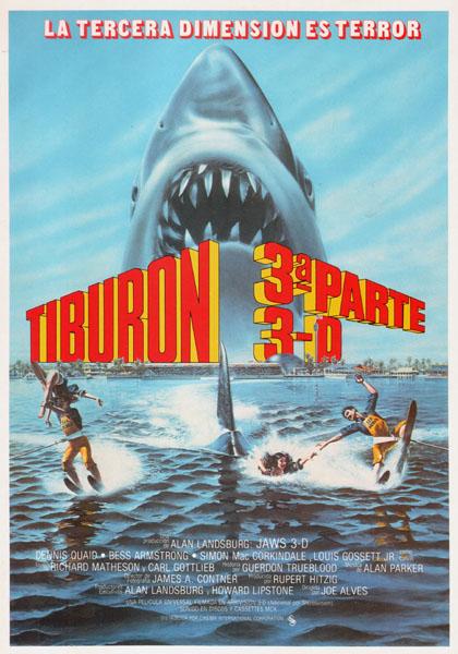 El gran tiburón - poster