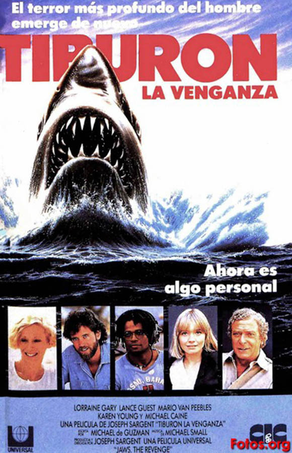 Tiburón, la venganza - poster