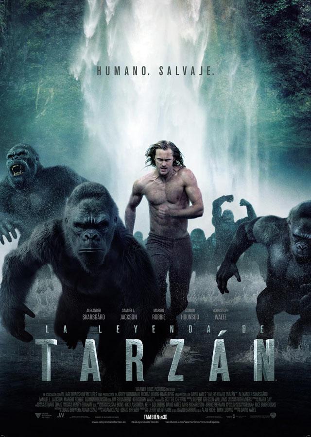 La leyenda de Tarzán - poster