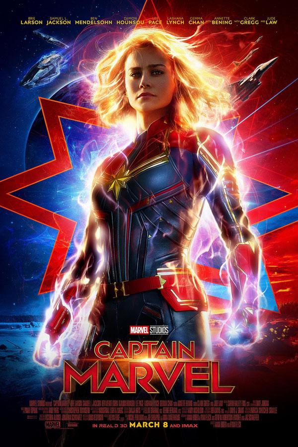Capitana Marvel - poster