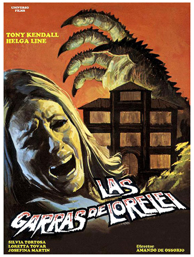 Las garras de Lorelei - poster