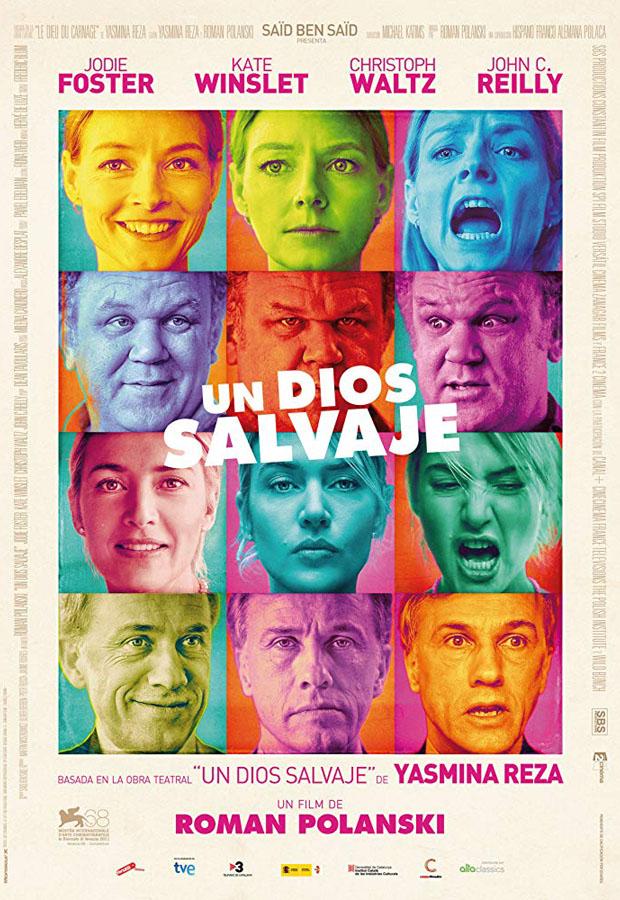 Un dios salvaje - poster