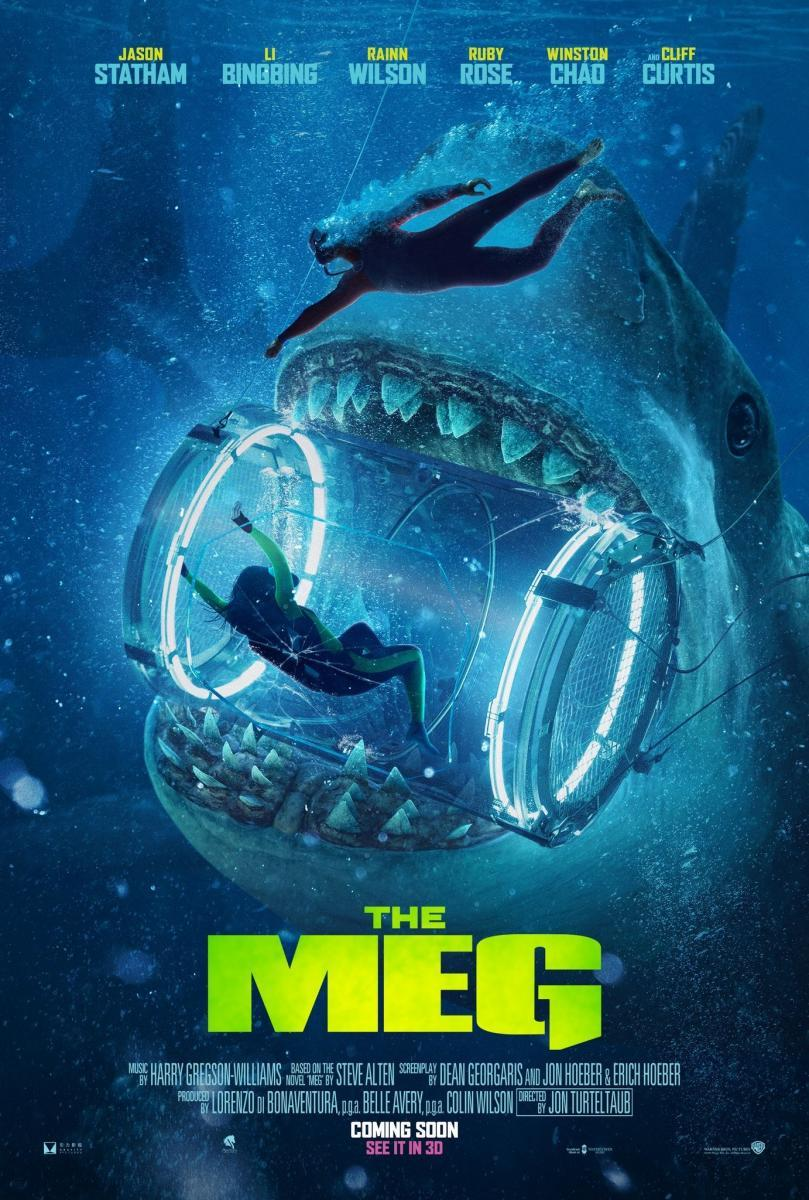 Cartel de la película Megalodón