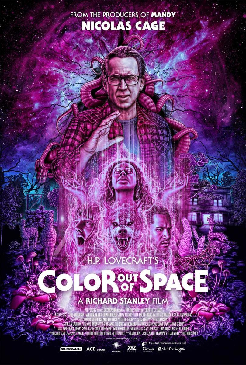 Cartel de la película Color out of space, de 2019