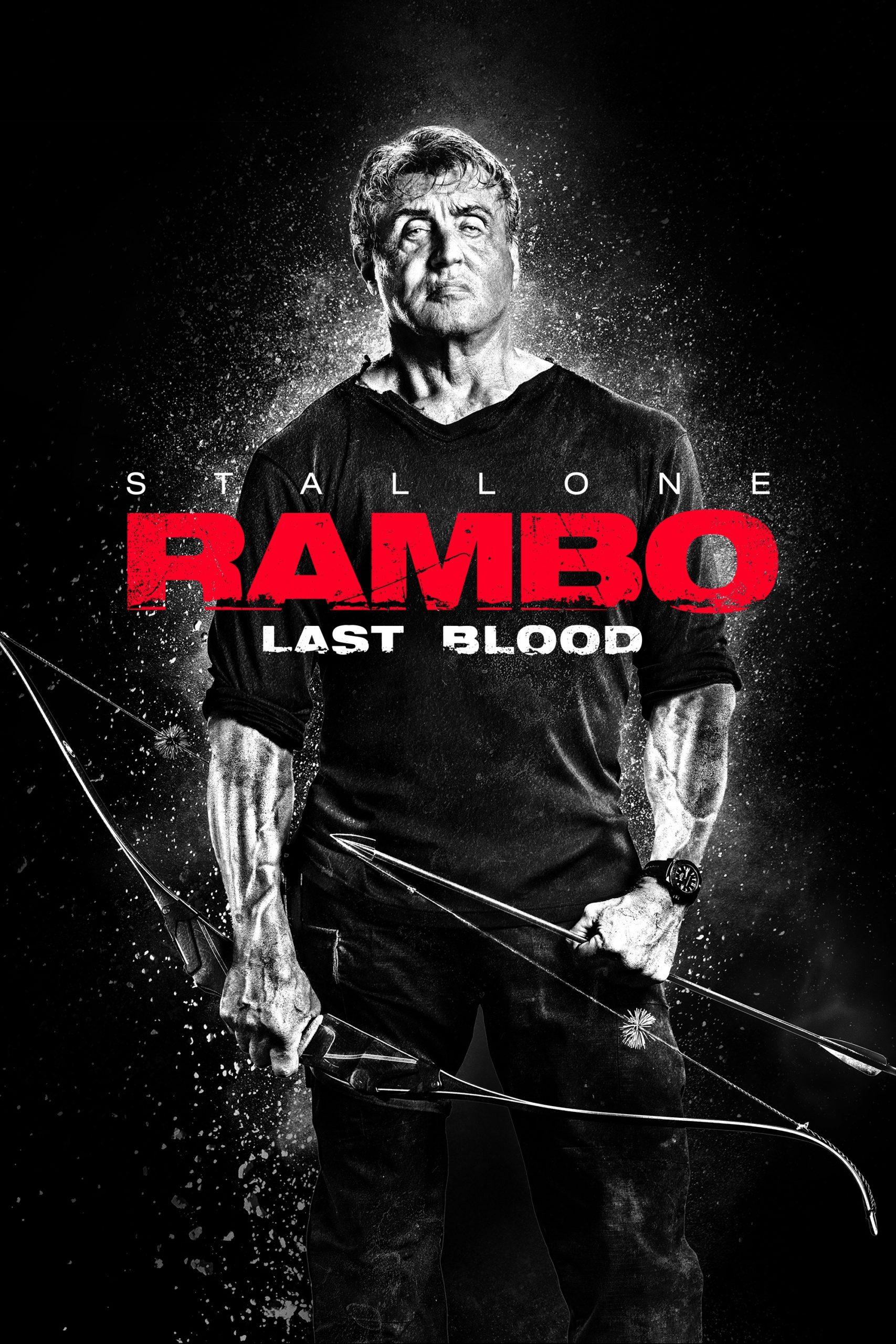 Cartel de la película Rambo Last Blood, de 2019