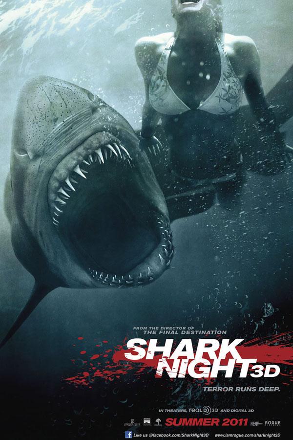 Tiburón 3D: La presa - poster